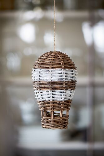 RUSTIC RATTAN HOT AIR BALLOON von RM
