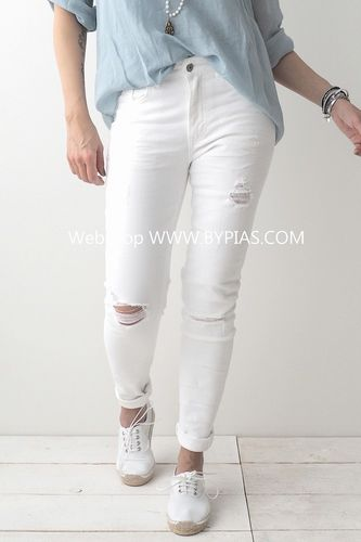Perfect Jeans BROKEN SLIM WHITE von BYPIAS