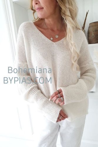 SWEET DREAMS KNIT Off White von BYPIAS